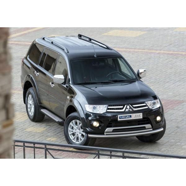 "Порог-площадка ""Bmw-Style"" Mitsubishi Pajero Sport 2008-2013-2016"