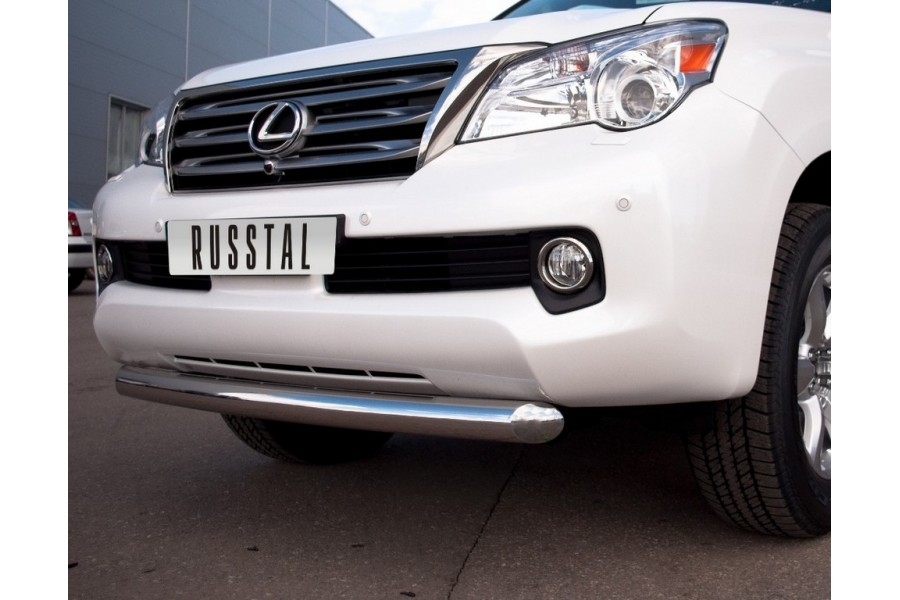 Lexus GX460 2009-2012 Защита переднего бампера d76 GХZ-000801