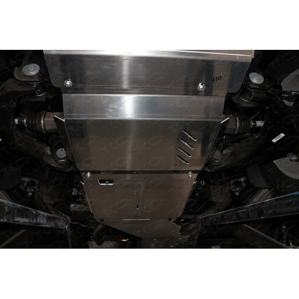 Защита КПП и раздатки (алюминий) 4мм (не устанавливается без ZKTCC00407)