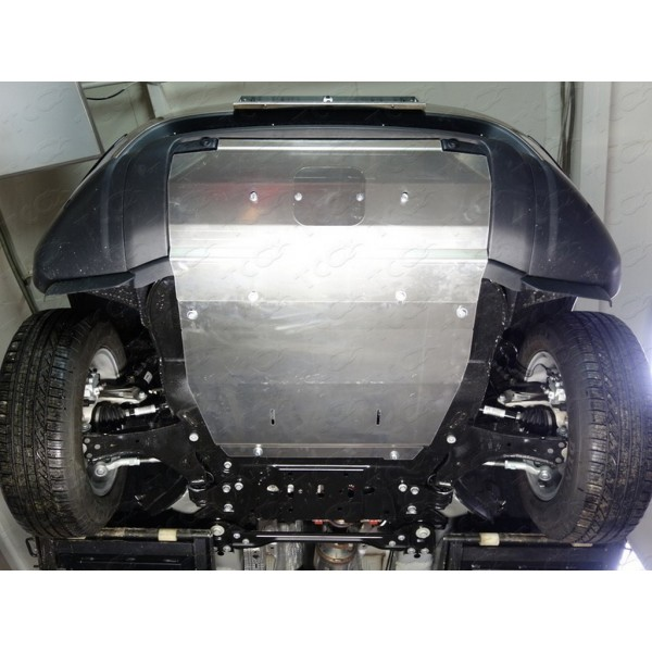 Защита радиатора (алюминий) 4мм (не устанавливается без ZKTCC00164)