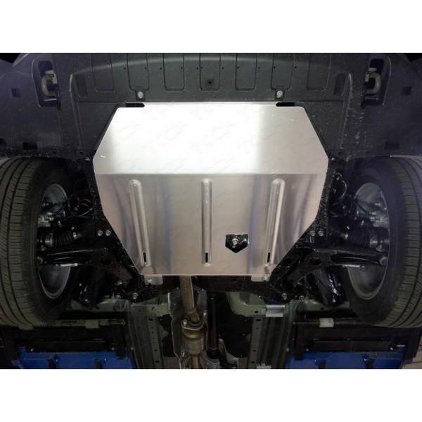 Защита картера и КПП (алюминий) 4мм (двг.2.0, 2WD)