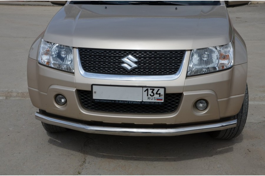 Защита переднего бампера d60 Grand Vitara  2005-2012  3 дв