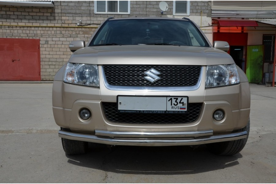 Защита переднего бампера d60/42 Grand Vitara  2005-2012  3 дв