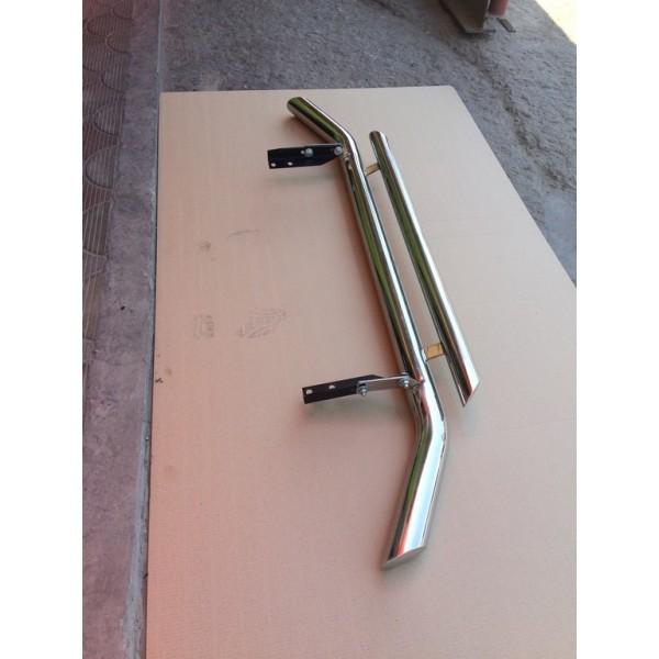 Защита заднего бампера угловая d76/42
