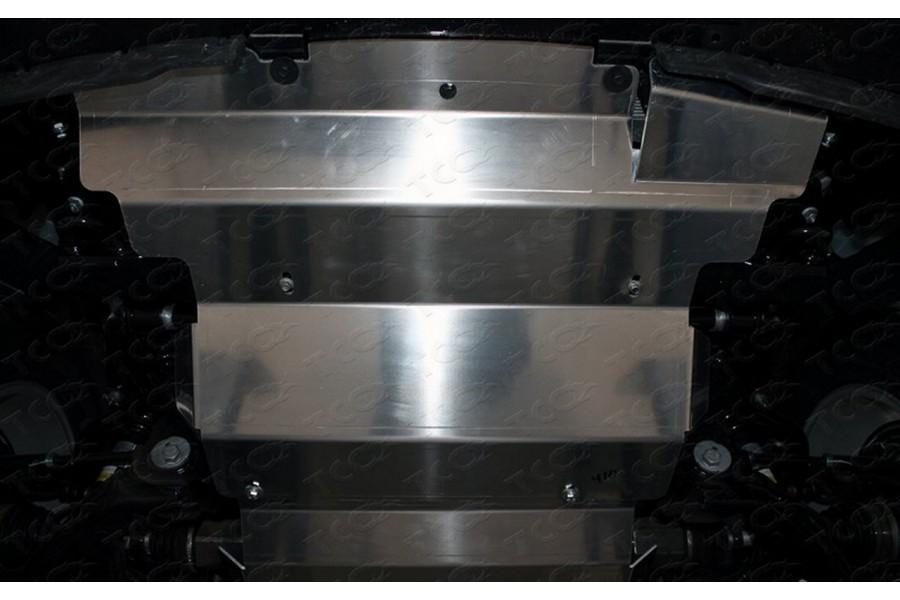 Защита картера и радиатора (алюминий) 4мм