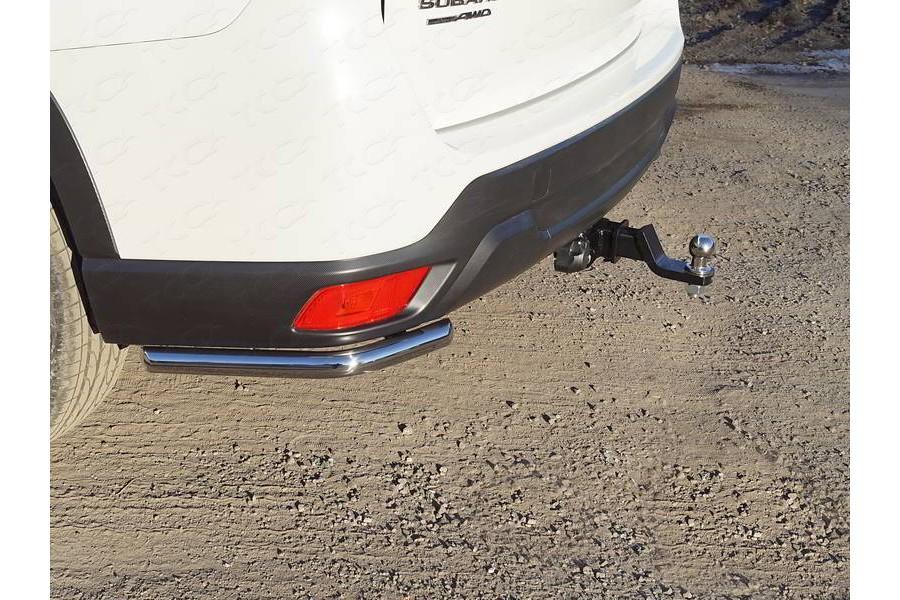 Защита задняя (уголки длинные) 42,4 мм