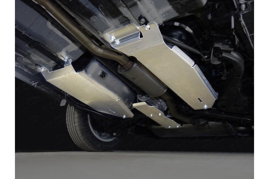 Защита бака правая (алюминий) 4мм