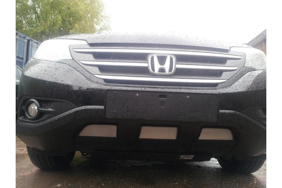 Защита радиатора Honda CR-V II 2002-2004 chrome