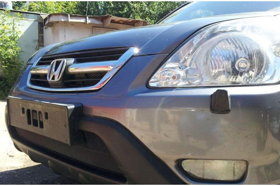 Защита радиатора Honda CR-V III 2010-2012 black