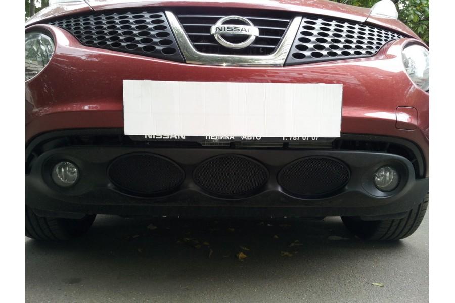 Защита радиатора Nissan Juke 2010-2014 black