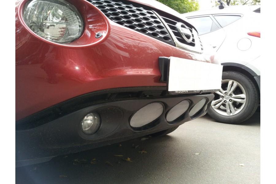 Защита радиатора Nissan Juke 2010-2014 chrome