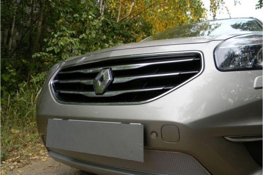 Защита радиатора Renault Koleos 2012- chrome PREMIUM