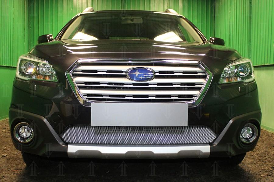 Защита радиатора Subaru Outback V 2015- chrome