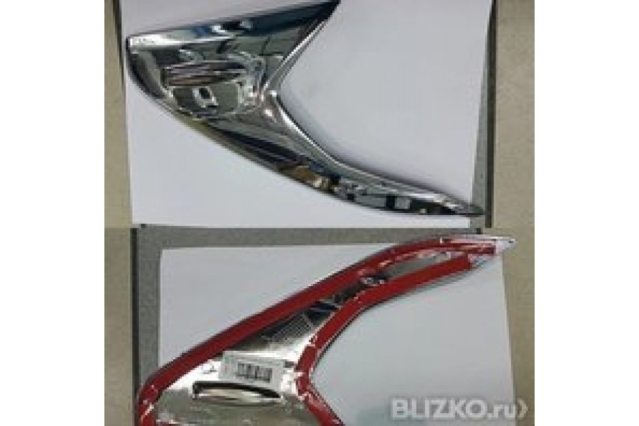 Накладка на противотуманки d16 Mazda CX7 2009-