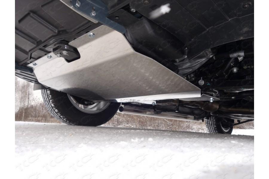 Защита картера и КПП (алюминий) 4мм