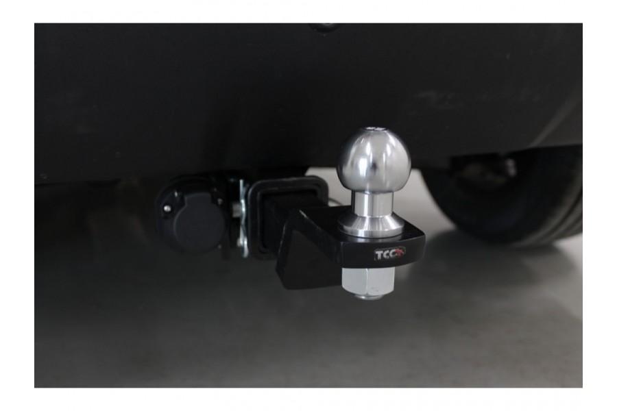 Фаркоп (оцинкованый,шар из нерж.стали) 75/1250кг (Крюк съёмный/Тип шара E)
