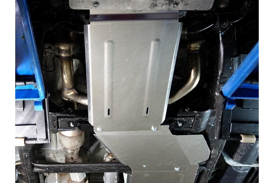 Защита раздаточной коробки (алюминий) 4мм
