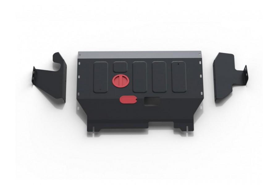 Защита картера+КПП 2.2d передний привод