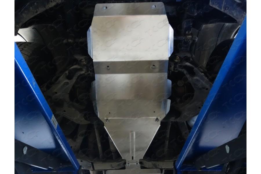 Защита КПП (алюминий) 4 мм (2.0i, 2.0TD)