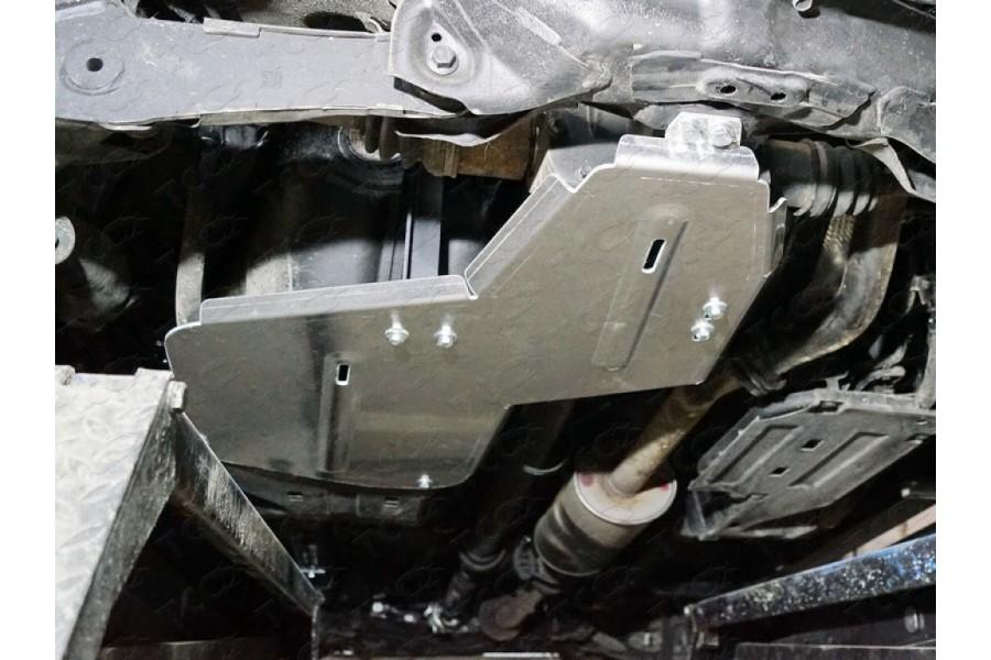 Защита бака и заднего дифференциала (алюминий) 4мм 1,5 turbo MT