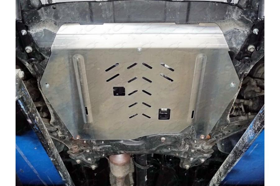 Защита картера и КПП (алюминий) 4мм 1,5 turbo MT