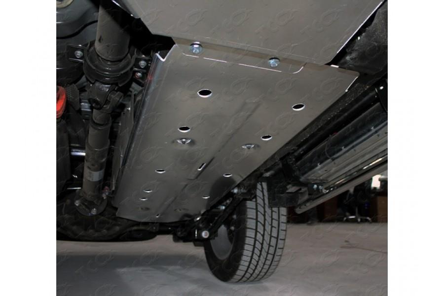 Защита бака (алюминий) 4мм 2.0 TD