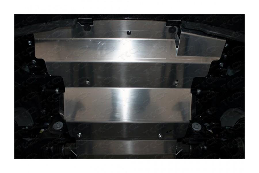Защита картера и радиатора (алюминий) 4мм 2.0 TD
