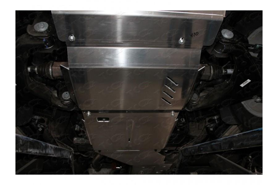 Защита КПП и раздатки (алюминий) 4мм (не устанавливается без ZKTCC00407) 2.0 TD