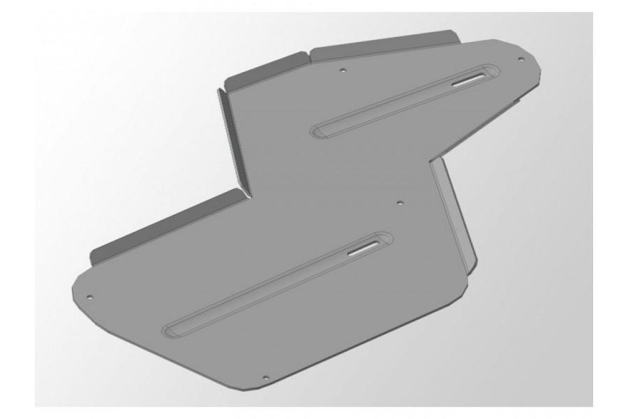 Защита дифференциала и бака (алюминий) 4 мм