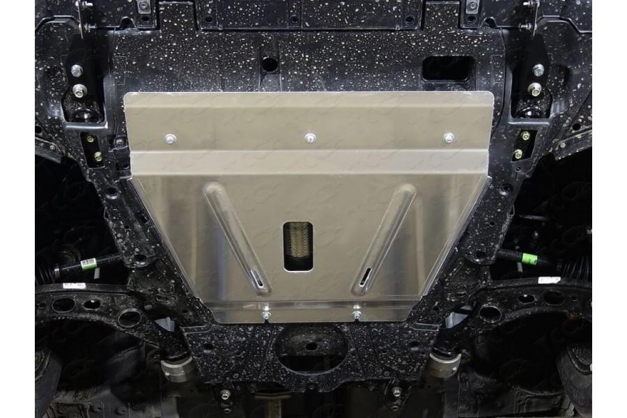 Защиты комплект (алюминий) 4мм (картер и кпп, бак, дифференциал)