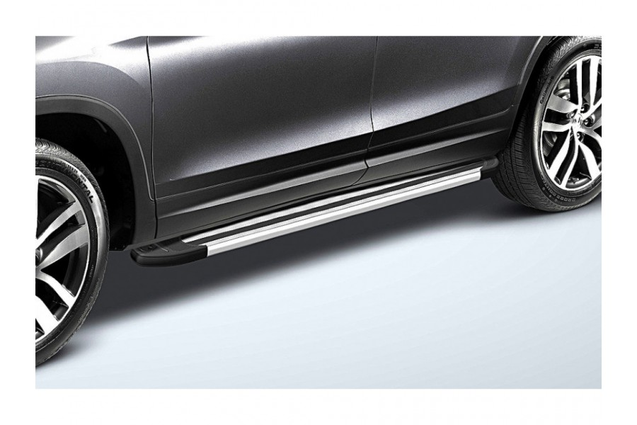 """Пороги алюминиевые """"Luxe Silver"""" 1800 серебристые"""