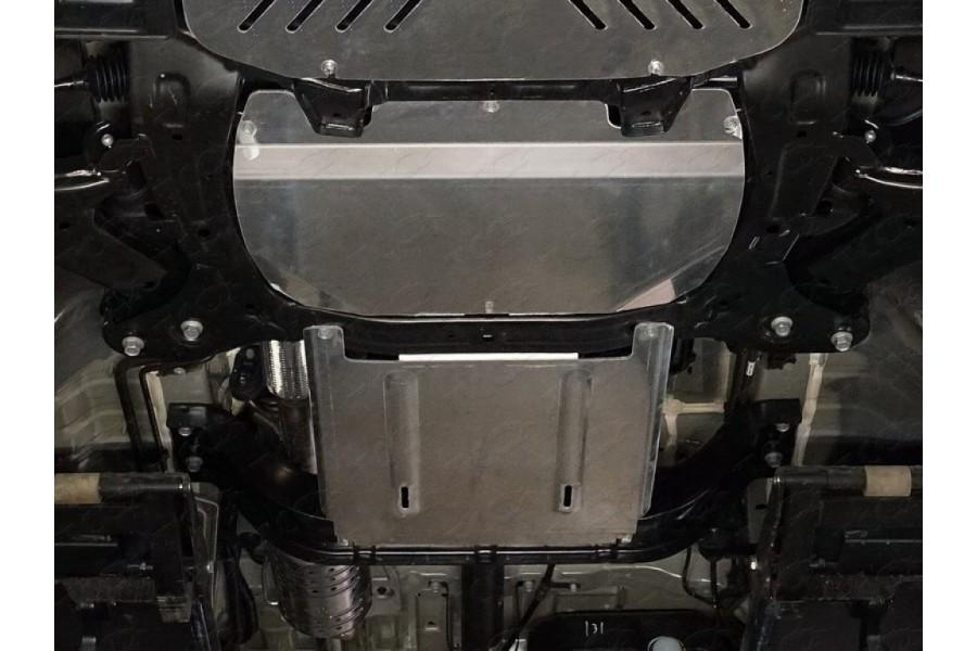 Защиты комплект (алюминий) 4 мм (картер, кпп, бак)