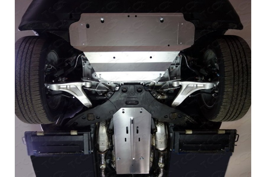 Защита КПП и раздатки (алюминий) 4 мм (3.7)