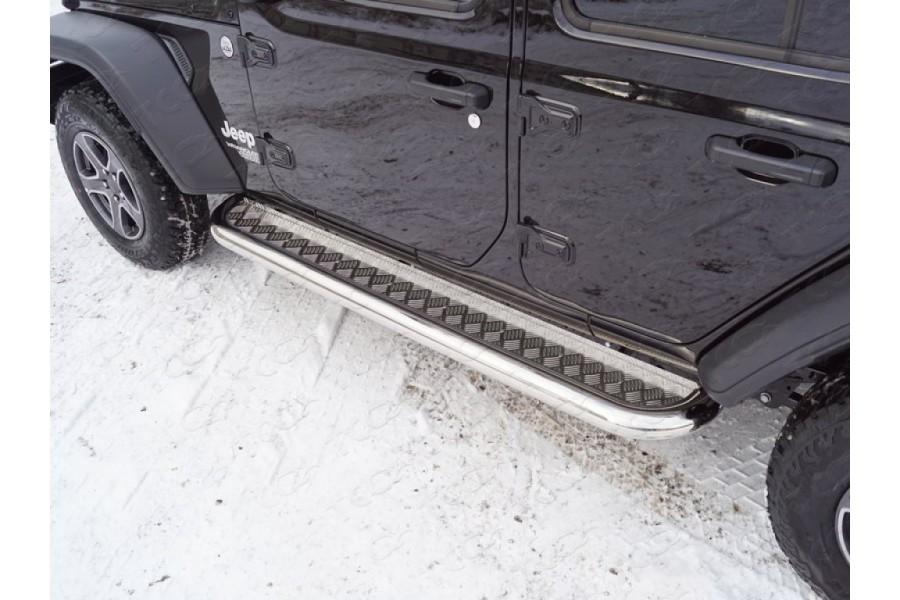 Пороги с площадкой 76,1 мм