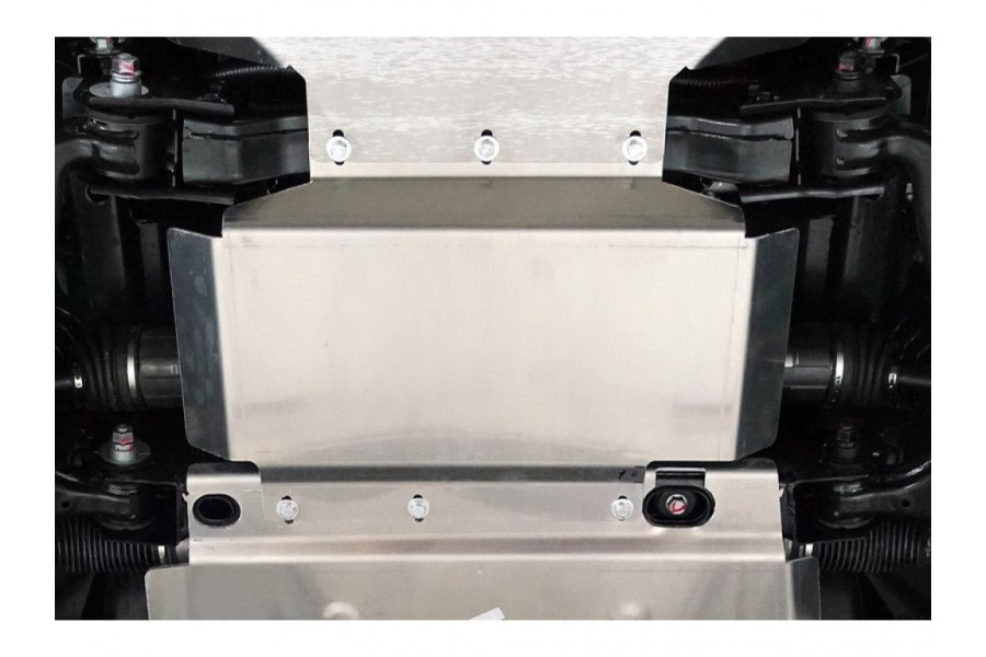Защита картера и переднего редуктора (алюминий) 4мм