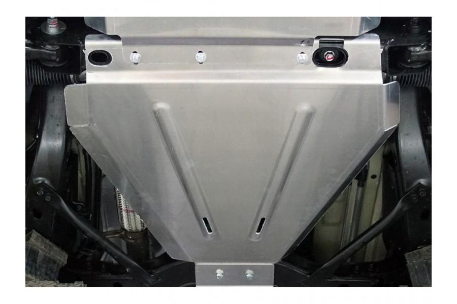 Защита КПП и рулевой рейки (алюминий) 4мм