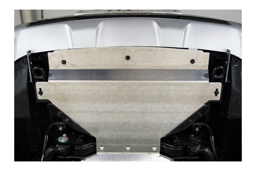 Защита радиатора (алюминий) 4мм