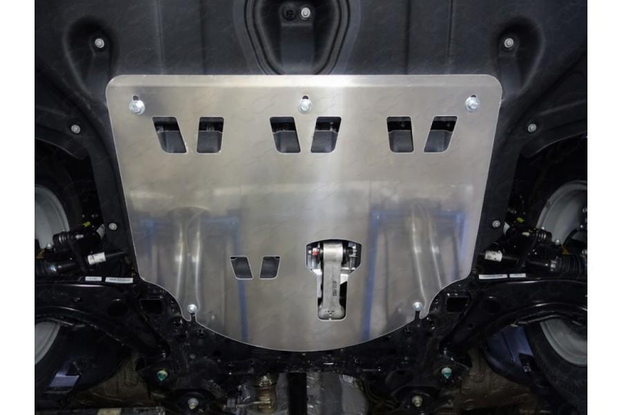 Защита картера и КПП (алюминий) 4мм 2.0/2.0d 2WD/4WD