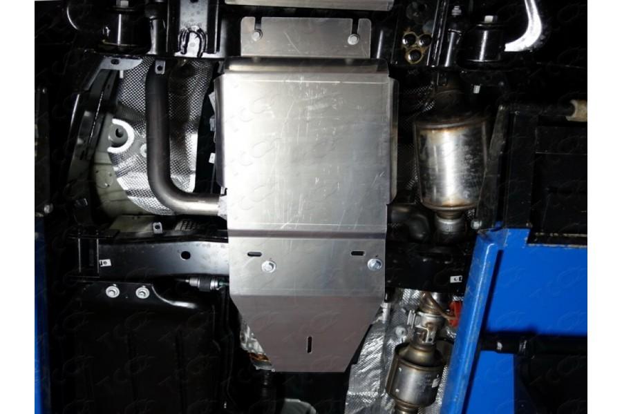 Защита КПП и раздатки (алюминий) 4 мм