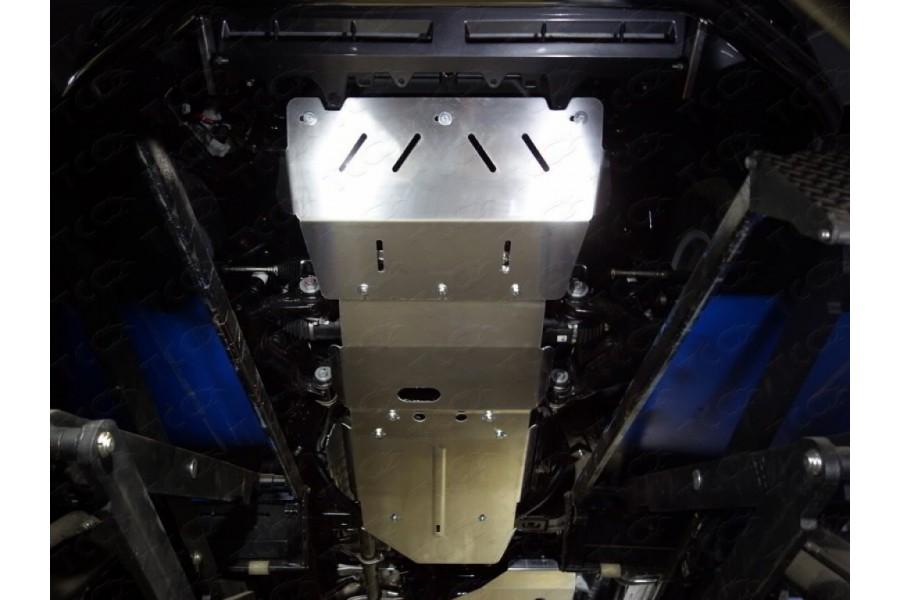 Защита КПП (алюминий) 4мм (не устанавливается без ZKTCC00101)