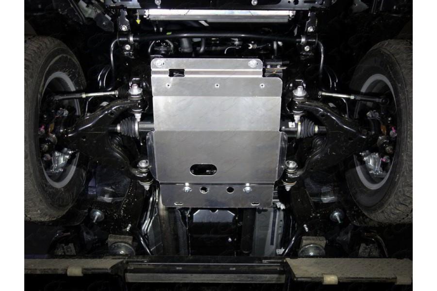 Защита переднего дифференциала (алюминий) 4мм