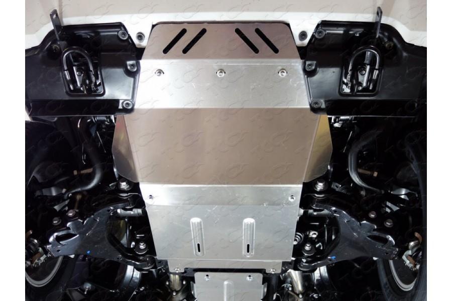 Защита радиатора (алюминий) 4 мм