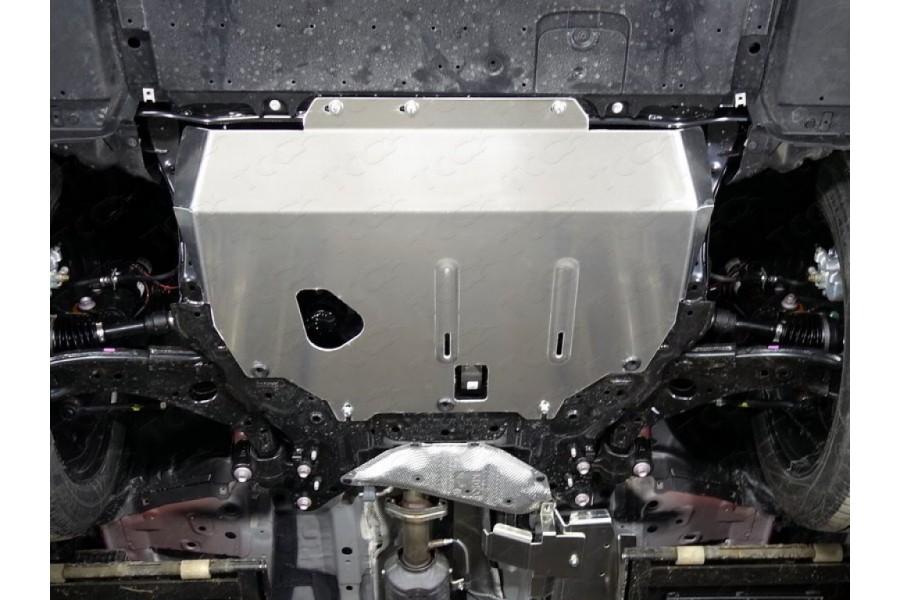 Защиты комплект (алюминий) 4мм (картер и кпп, топливопровод, адсорбер, бак левая, бак правая)