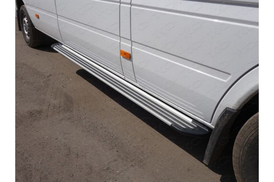 Порог алюминиевый 2220 мм «Slim Line Silver»