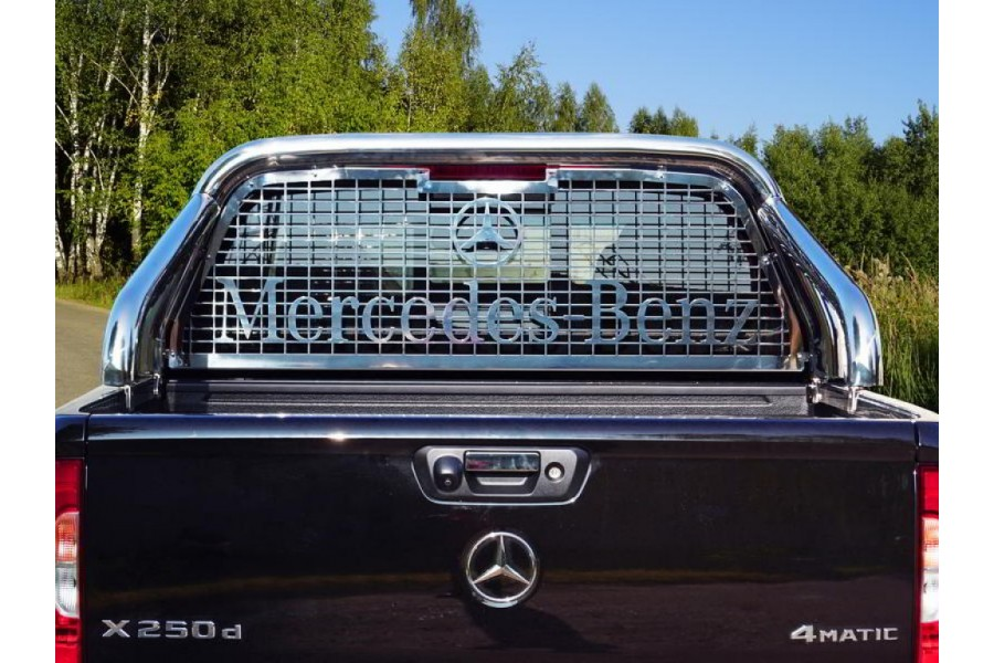 Защита кузова и заднего стекла (без надписи) 76,1 мм