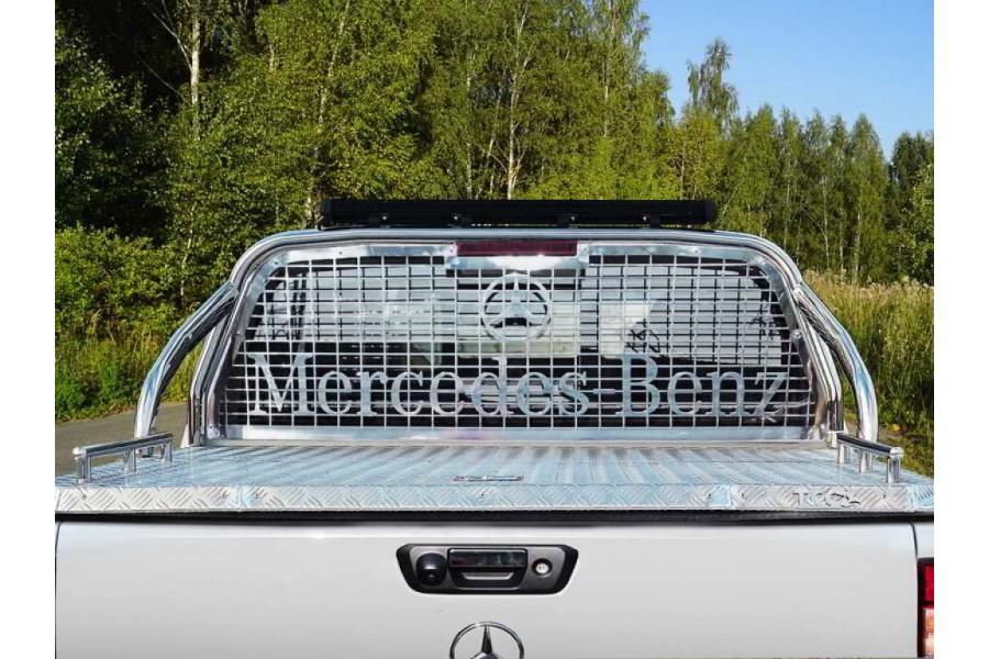 Защита кузова и заднего стекла (для крышки) 75х42 мм со светодиодной фарой