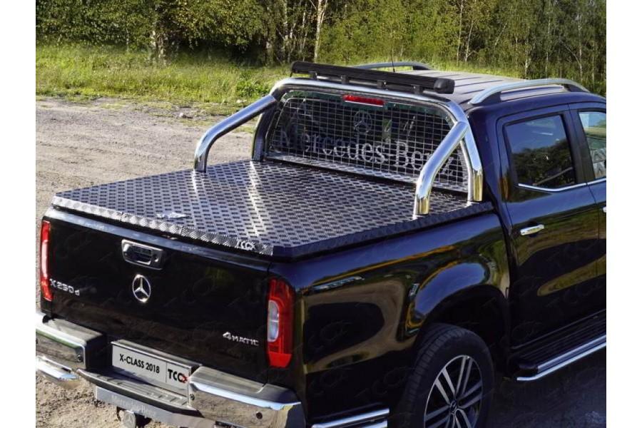 Защита кузова и заднего стекла (для крышки) 76,1 мм со светодиодной фарой
