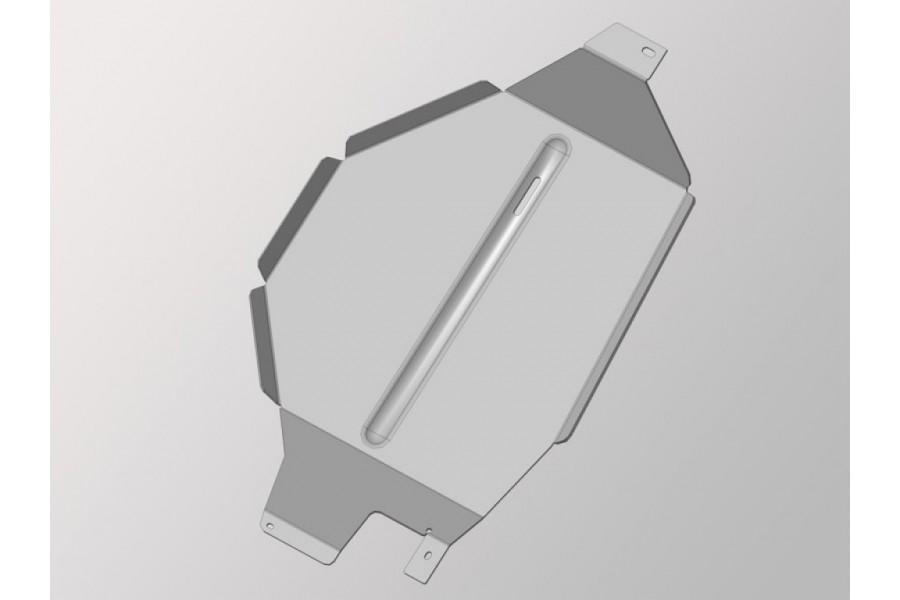 Защита бака (алюминий) 4 мм 2WD