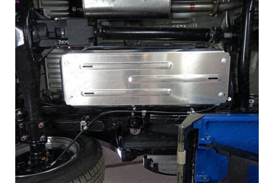 Защита бака (алюминий) 4мм ZKTCC00155