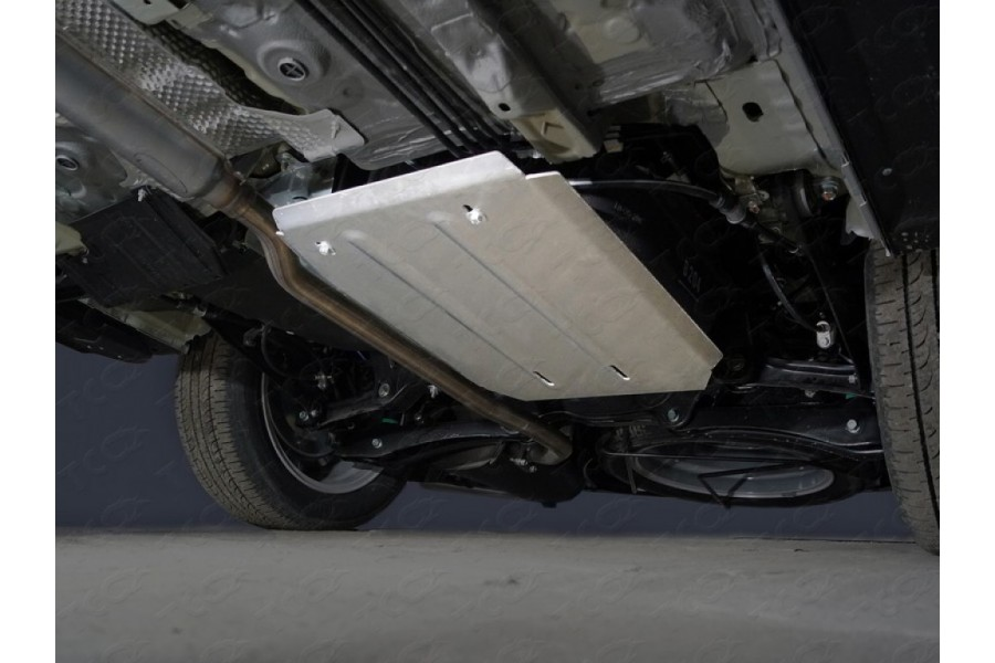 Защита бака (алюминий) 4мм двг. 2.0, 2WD